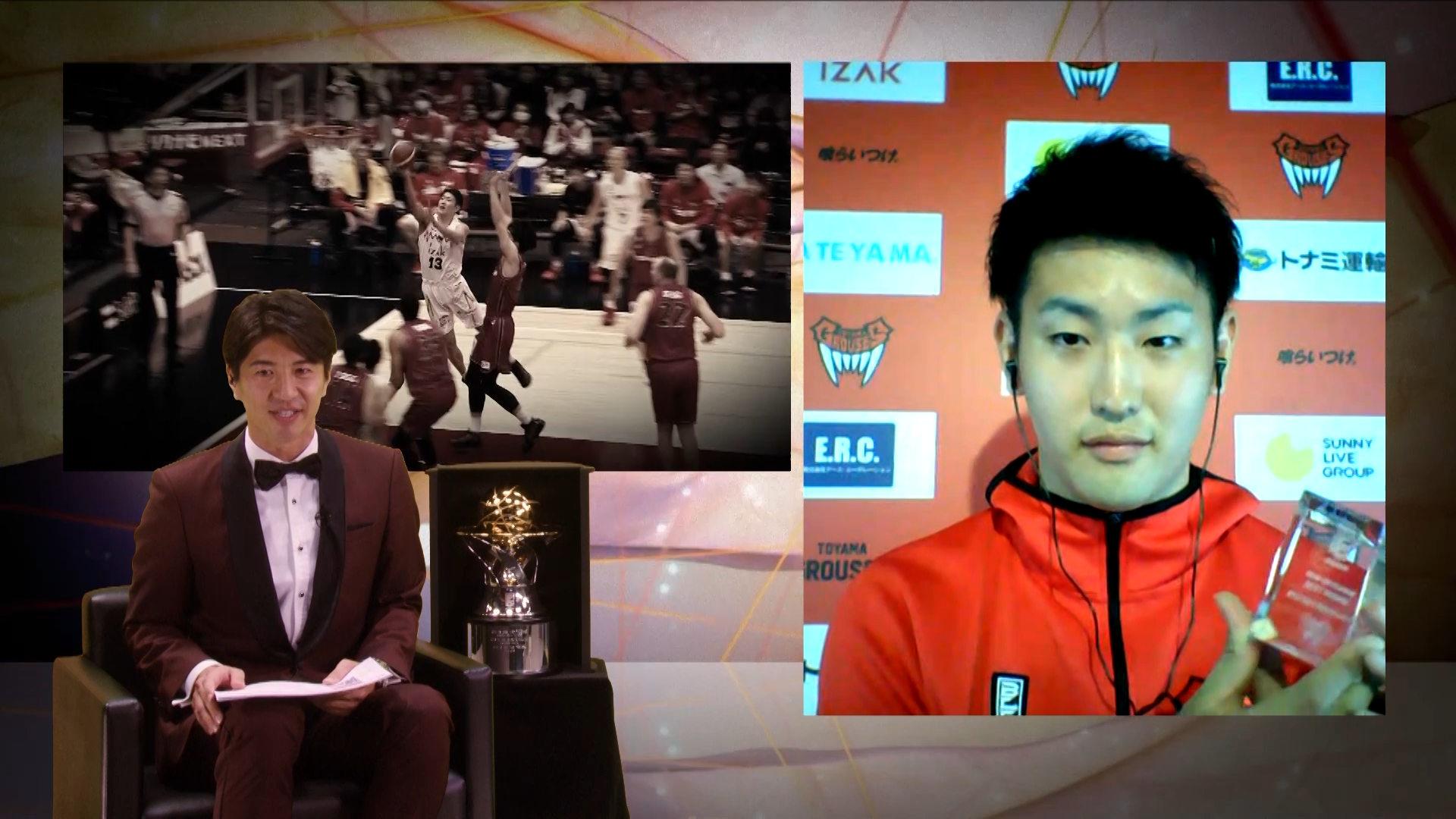 Bリーグ最優秀新人賞受賞の前田悟 琉球との対戦を語る