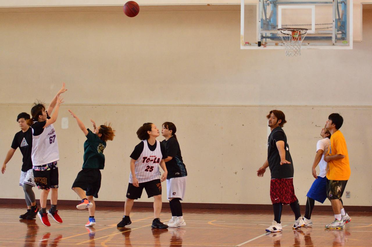 みんながバスケを楽しめる大会!1DAY MIXリーグ