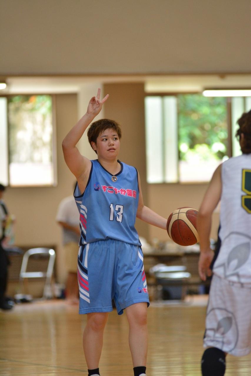 すこやか薬局が優勝  社会人バスケットボール選手権大会(女子)