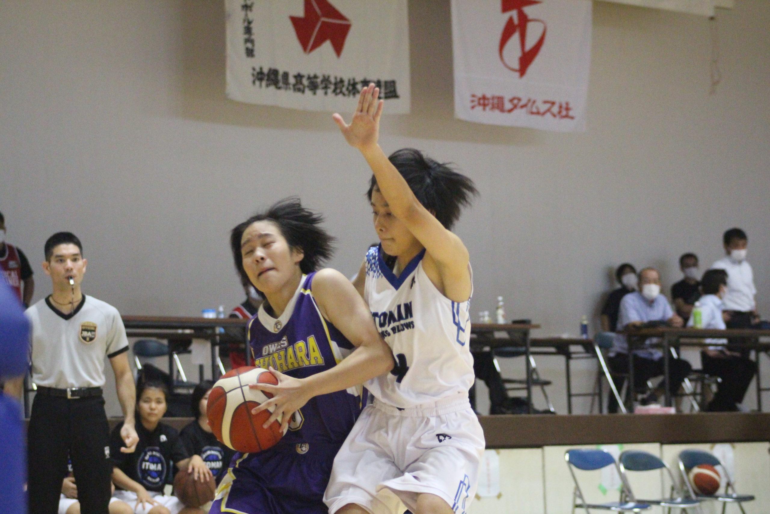【ウインターカップ沖縄県予選】女子準決勝 西原VS糸満