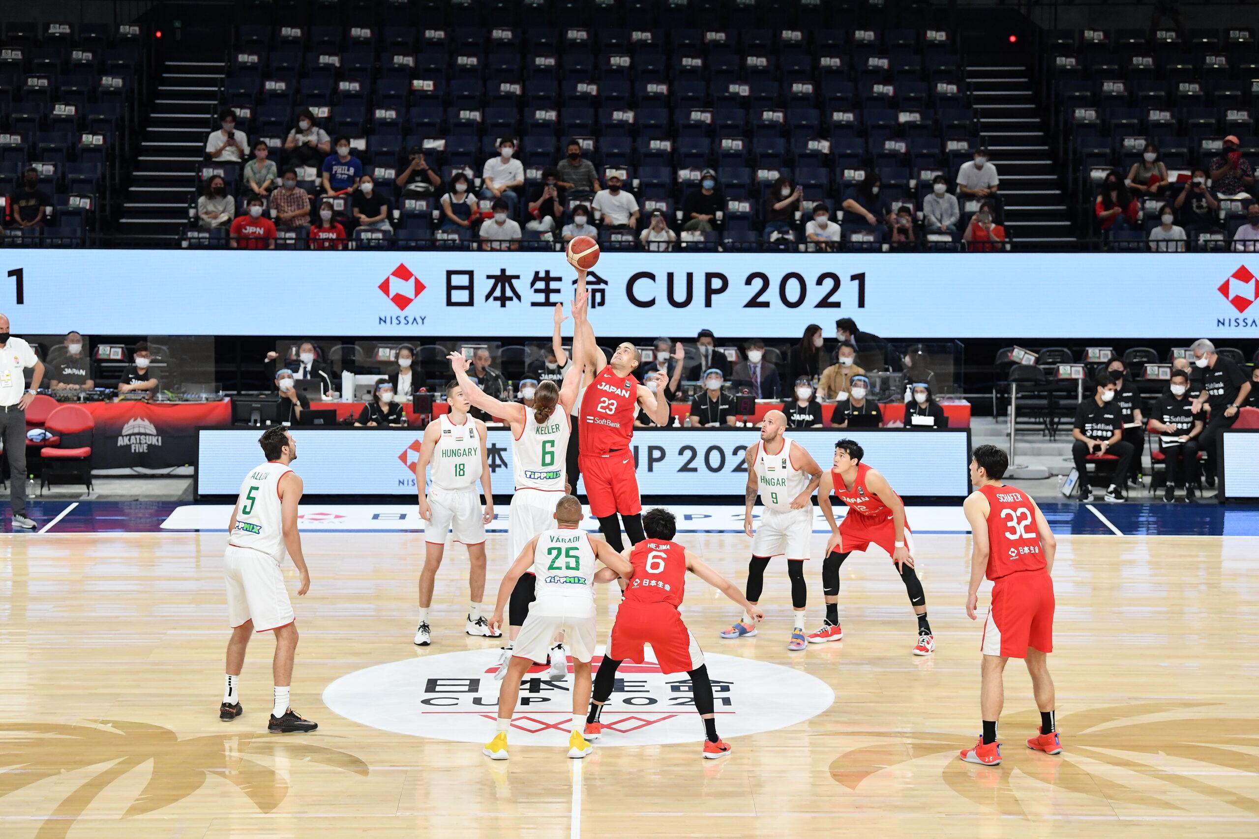 日本代表 vs ハンガリー代表 日本生命CUP2021 in沖縄アリーナ